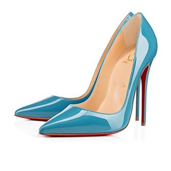Christian_ Louboutin Womens Kates Pointed toe and Superfine Stiletto Heel