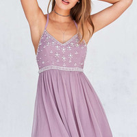 Kimchi Blue Snow Queen Embellished Mini Dress - Urban Outfitters