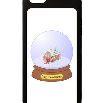 Little Gingerbread House Snow Globe iPhone 5C Grip Case  by TooLoud