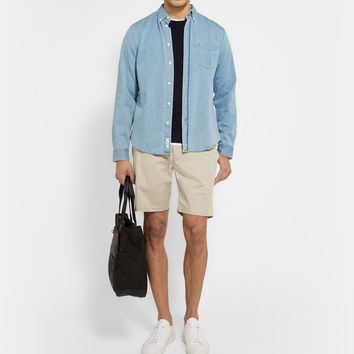 Theory - Zaine Cotton Chino Shorts | MR PORTER