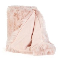 Exclusively Ours - Cozy Faux Fur Throw-Decor-Nina Campbell Home-Featured Brands-For the Home | Stein Mart