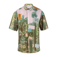 Indelust - Cactus Print Shirt - Men