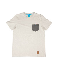 King Apparel - Insignia Tshirt - Heather Cream/Grey