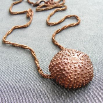 Sea Urchin Collection Copper Electroformed by staroftheeast