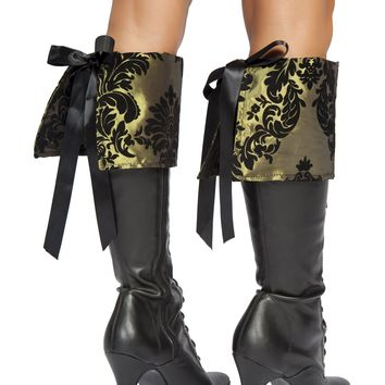 Roma RM-4154B Women's Tea Party Tease Boot Covers