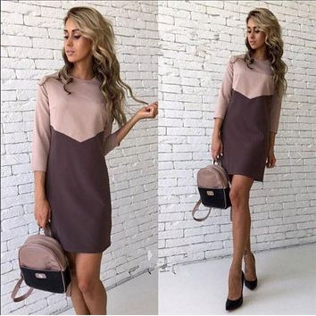casual mini dress