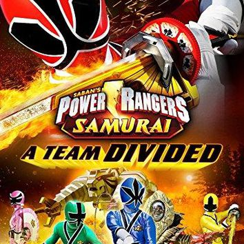 Alex Heartman & Erika Fong & Peter Salmon & Luke Robinson -Power Rangers Samurai: A Team Divided Vol. 3