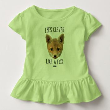 Eyes Clever Toddler Design by Kat Worth Toddler T-shirt