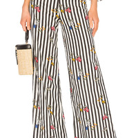 Lovers + Friends Zoey Wide Leg Pants in Multi