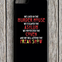 American Horror Story iPhone 6S Case