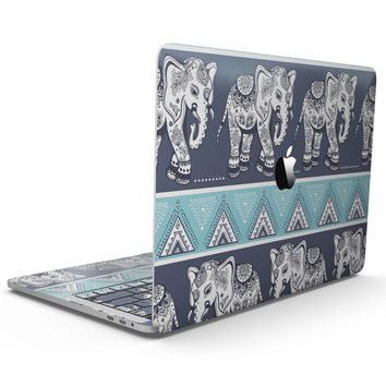 Walking Sacred Elephant Pattern - MacBook Pro with Touch Bar Skin Kit