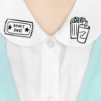 Where to Wear It collar clips - Movies