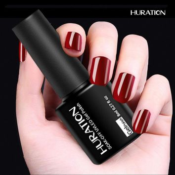 Huration Shining Colors Gel Lak Gelpolish Varnish Uv Led Nail Gel Polish Vernis Semi Permanent Need Top Base Coat Gel