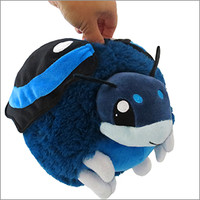 Limited Mini Blue Admiral Butterfly: An Adorable Fuzzy Plush to Snurfle and Squeeze!