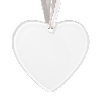 Create Your Own Acrylic Heart-Shaped Ornament