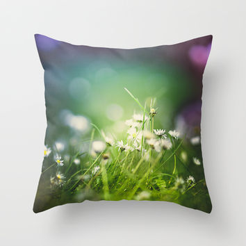 I tripped again Throw Pillow by HappyMelvin