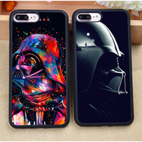 Luxury Star War Darth Vader FATHER Soft Rubber Mobile Phone Cases For Coque iPhone 7 7 Plus 6 6S Plus 5 5S 5C SE 4S Cover Shell