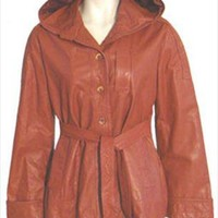 Sears JR Bazaar 70s Vintage Brown Leather Jacket