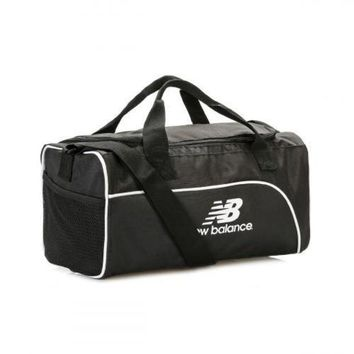 DCCK1IN new balance black training day small duffel bag