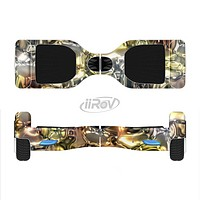 The Golden and Yellow Mercury Full-Body Skin Set for the Smart Drifting SuperCharged iiRov HoverBoard