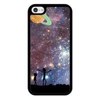 Rick And Morty Galaxy P iPhone 5/5S/SE Case