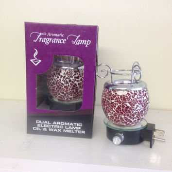 Red Plugin Lamp Warmer