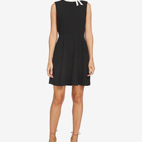 CeCe Bow Fit & Flare Dress - Dresses - Women - Macy's
