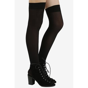 Black Out Thigh Highs