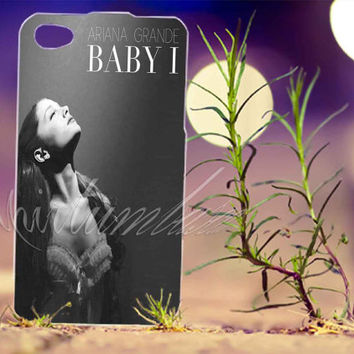 Ariana Grande Baby I - Photo Print for iPhone 4/4s, iPhone 5/5s/5C, Samsung S3 i9300, Samsung S4 i9500 Hard Case