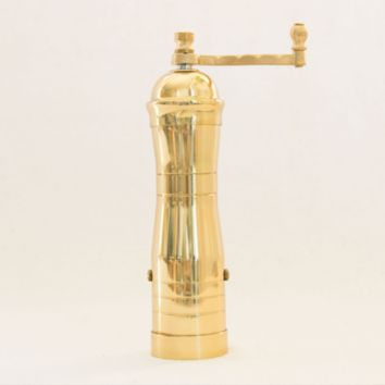 Athena Brass Pepper Mill at General Store