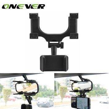 Universal Car Rearview Mirror Mount Phone Holder Phone Holder Stands for most phone 360 Degrees