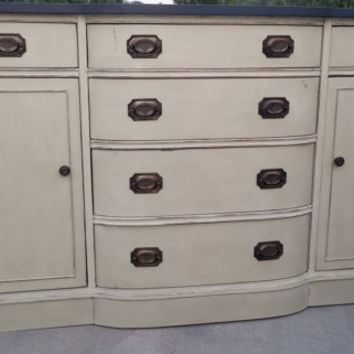 annie sloan chalk painted bow front from newbeginningsdecor on rh wanelo co chalk painted buffet sideboard painted buffet sideboard