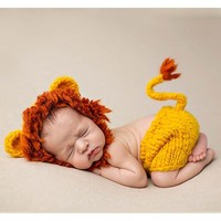 Newborn Photography Prop - The Lion