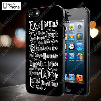 Harry Potter Black Magic Spells Case for iPhone 5/5S, 4/4S, and Samsung Galaxy S3/S4