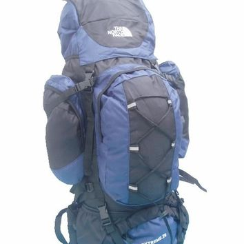 North face mountaineering bag backpack backpack aluminum backpack to send rain cover