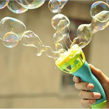VONC1Y Electric Bubble Gun Toys Bubble Machine Automatic Bubble Water Gun Essential In Summer Outdoor Children Bubble Blowing Toy