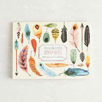 Arrows & Feathers Sticky Note Set- Multi One
