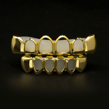 Gold Plated Open Face Grillz