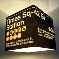 Large Times Sq. Lamp Shade - Meninos Store