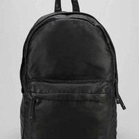 Feathers Faux-Leather Backpack- Black One