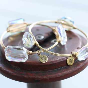 Bourbon and Boweties Translucent Bangle