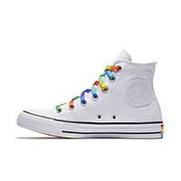 The Converse Chuck Taylor All Star Pride Core High Top Unisex Shoe.
