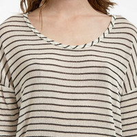 Racing Stripes Sweater $16