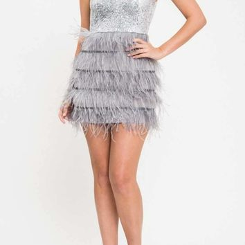 Happy New Year Dress: Silver