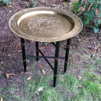 Chinese Brass Tray Table Brass Wall Hanging Tray