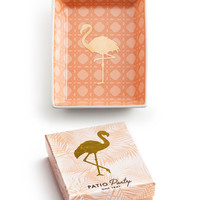 """Patio Party"" Decorative Tray - Flamingo"
