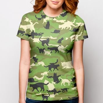 Catmouflage - The Cat Camo T-Shirt | redditgifts