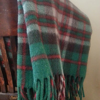 William Ayres & Sons Robe 5A Plaid Picnic Blanket Stadium Throw