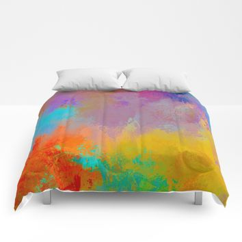Expressions 1 Comforters by Jai Johnson