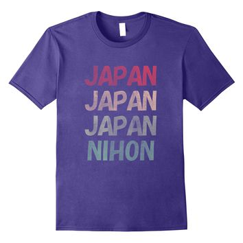 Love Japan and Nihon Japanese Shirt